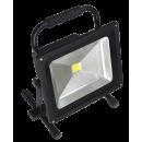 TAB 87140 werflamp COB 20-30-40W oplaadb.
