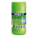 Dirteeze Glass & Plastic wipes (80pc)