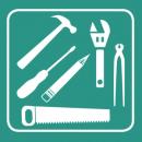 Beitels, hamers & breekmateriaal